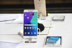 Pro-Samsung galax C9 Arkivfoto