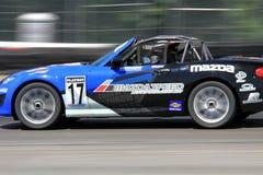 Pro-Schale Mazdas MX-5 Stockfotografie
