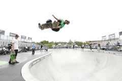 Pro skater at Dew Tour Stock Photos