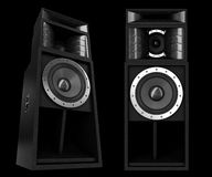 Pro speakers Stock Image