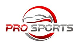 Pro Sport Car. Logo Design Template Vector vector illustration
