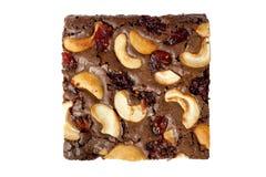 Pro stück von den Schokoladenkuchen Stockbilder