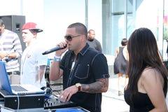 Pro stile #1 del DJ Fotografie Stock