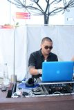 Pro stile #3 del DJ Fotografie Stock Libere da Diritti