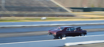 Pro Stock Drag Racing Royalty Free Stock Image