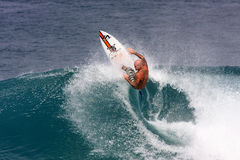 Pro Surfer - Matt Archbold Royalty Free Stock Photo