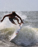 Pro Surfing Stock Photo