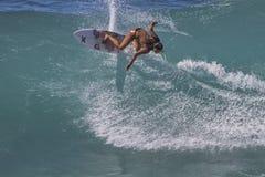 Pro surfista Immagine Stock