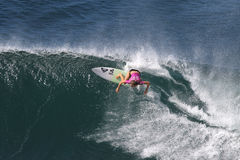 Pro surfista Fotografia Stock