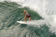Pro surfista Fotografia Stock Libera da Diritti