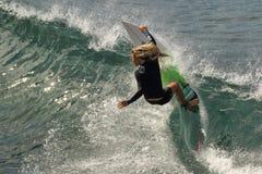 Pro surfista Immagini Stock