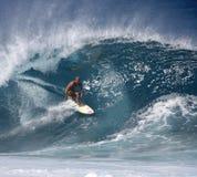 Pro surfista Fred Patacchia Immagine Stock
