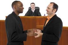 Pro Tej Samej Płci małżeństwa sędzia zdjęcia royalty free