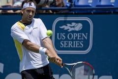 Pro Tennis Player Nicolas Kiefer at the Los Angele Royalty Free Stock Image