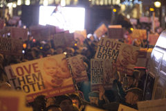 Pro veglia di vita 4/12/12 (7) Fotografie Stock