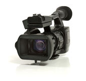 Pro Video Camera Stock Image