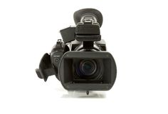 Pro videocamera Immagini Stock