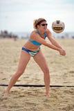 Pro volleyball de plage de 2013 femmes photo libre de droits