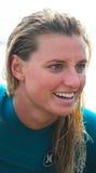 Pro Vrouwelijke Surfer, Lakey Peterson Leadbetter Classic stock afbeeldingen