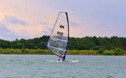 Pro windsurfing National Race Royalty Free Stock Image