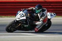 Pro Yamaha race bike royalty free stock photos