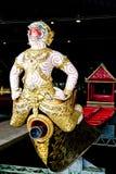 Proa de la lancha a remolque del emperador, Bangkok, Tailandia Imagen de archivo libre de regalías