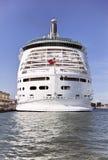 Proa de um navio de cruzeiros Fotos de Stock Royalty Free