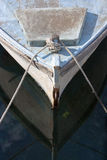 Proa de un barco viejo Foto de archivo