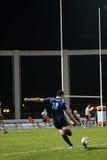 Proabgleichung RCNM des Rugbys D2 gegen US Colomiers Lizenzfreies Stockfoto