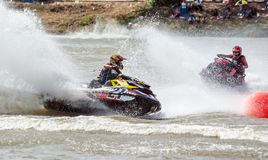 Proausflug G-Schock Jetski Thailand 2014 Internationa Stockfotos