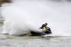 Proausflug G-Schock Jetski Thailand 2014 Internationa Stockfoto