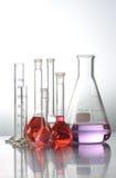 probówki laboratoryjne Fotografia Stock
