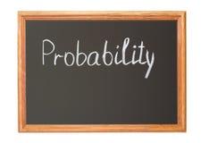 probabilidade Imagem de Stock