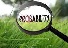 Probability Royalty Free Stock Images