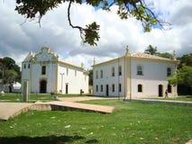 Historic Buildings in Porto Seguro. royalty free stock photo