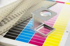 Probador de lino Fotos de archivo libres de regalías