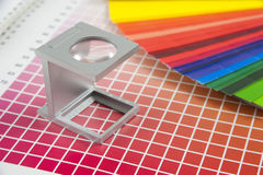 Probador de lino Fotografía de archivo