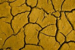 Probe des Bodens von der Wüste der gewünschten Farbe stockbild