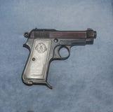 Probe 1934, Italien des Systems Beretta der Pistole 9-Millimeter Lizenzfreie Stockbilder