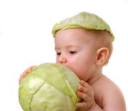 Probeert groente op smaak stock foto's
