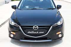 Probefahrt Mazda3 JDM Japan Versions-2014 Stockbilder