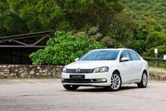 Probefahrt Volkswagen Passats BMT 2014 Stockbilder