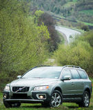 Probefahrt 70 Volvos XC am 3. Mai 2013 in Ukraine Lizenzfreies Stockfoto