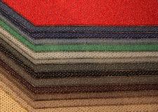 Proben des Teppichs Lizenzfreie Stockbilder
