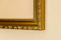 Proben von Fragmenten von Holzrahmen für Bilder stockfotos