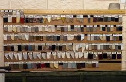 Proben von Materialien Lizenzfreie Stockbilder