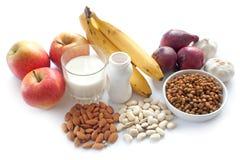 Probiotic foods bantar arkivbilder