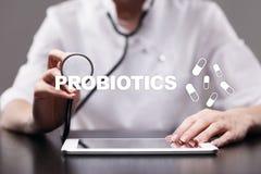 Probiotics. Health improvement. Medication and medicine concept. Probiotics. Health improvement. Medication and medicine concept stock images