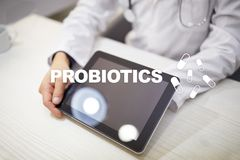 Probiotics. Health improvement. Medication and medicine concept.