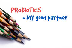 Probiotics my good partner Stock Photos